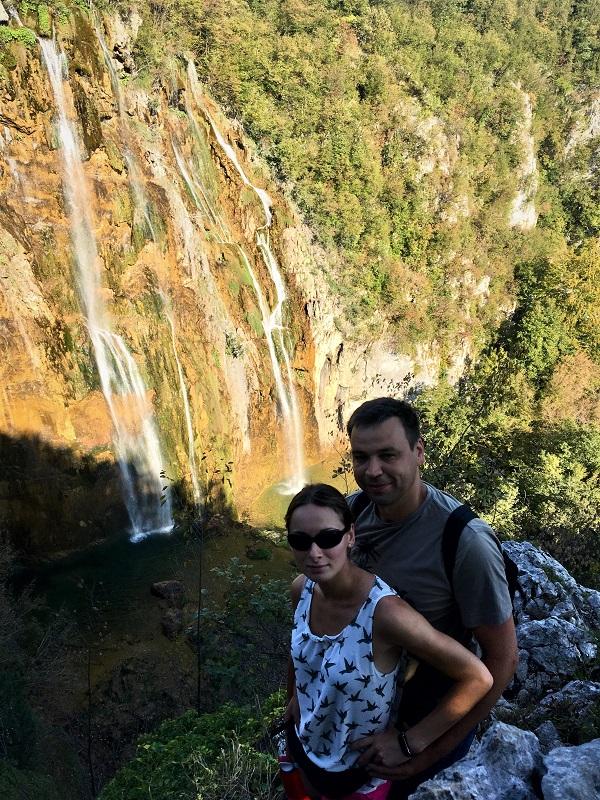 водопад на Плитвицких озерах