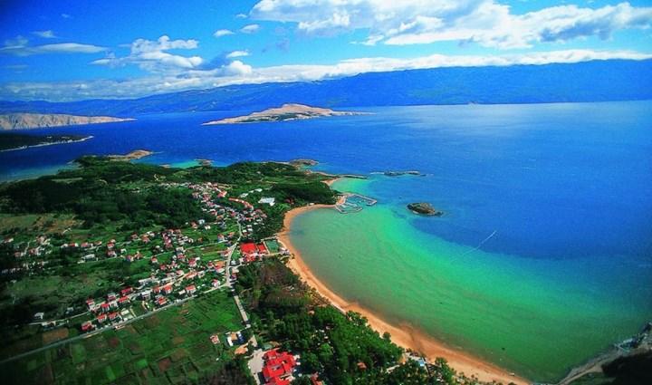 Rajska Plaža отели Хорватии с песчаным пляжем
