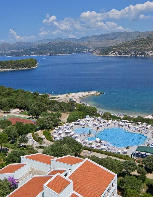 Valamar Club Dubrovnik вид из номера люкс