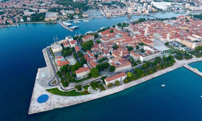 Хорватия с высоты птичьего полета