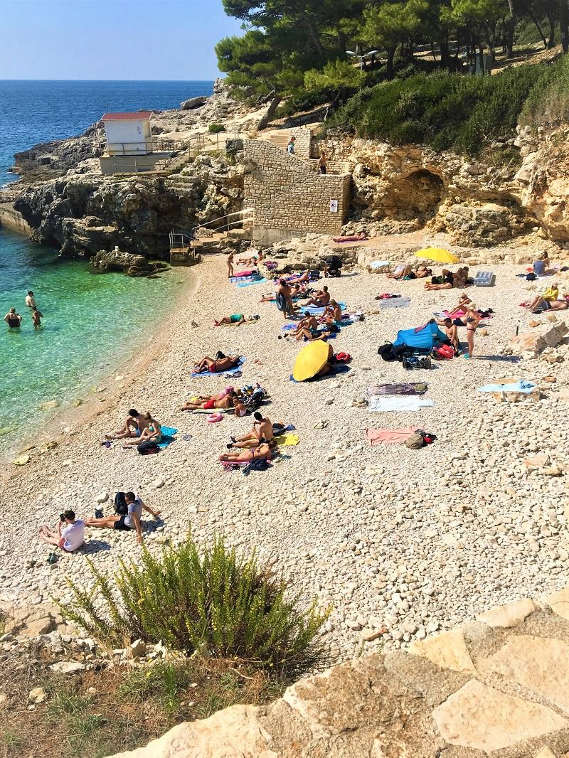 пляж Хорватии