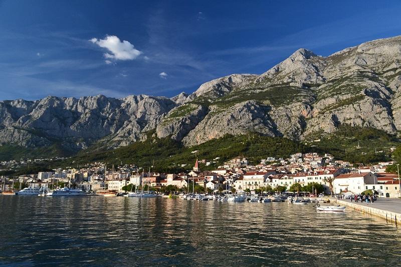 отдых на макарской ривьере в хорватии