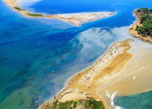 ПляжNinska Laguna в городе Нин Хорватия