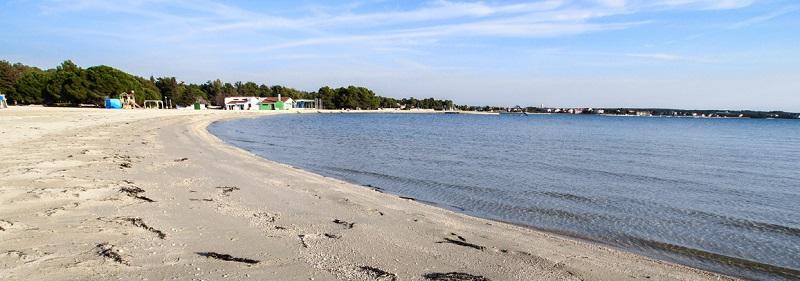 пляж Затон Хорватия (Zaton)