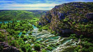 парк Крка и водопады