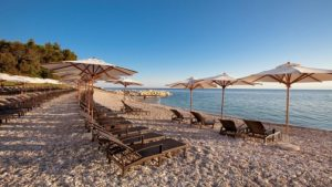 отели на песчаном пляже Хорватии