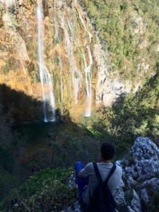 Велики слеп Большой водопад в плитвице