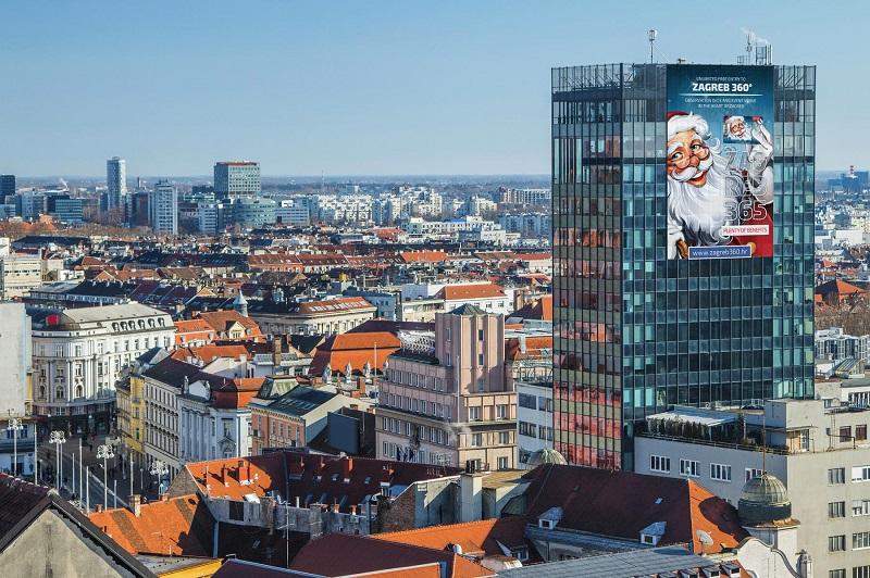 Обзорная площадка в Загребе что посмотреть