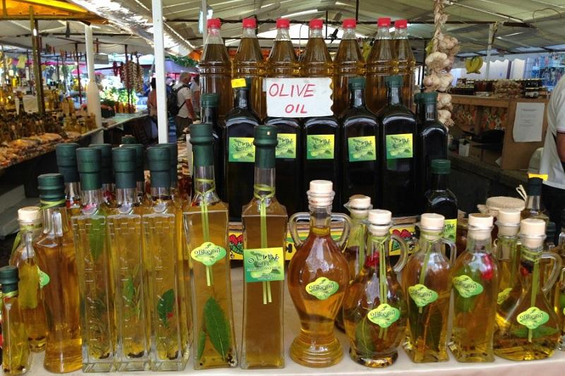 деликатесы из хорватии оливковое масло