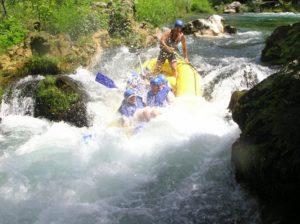 рафтинг в хорватии что посмотреть