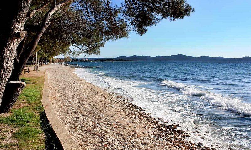 лучшие пляжи задара