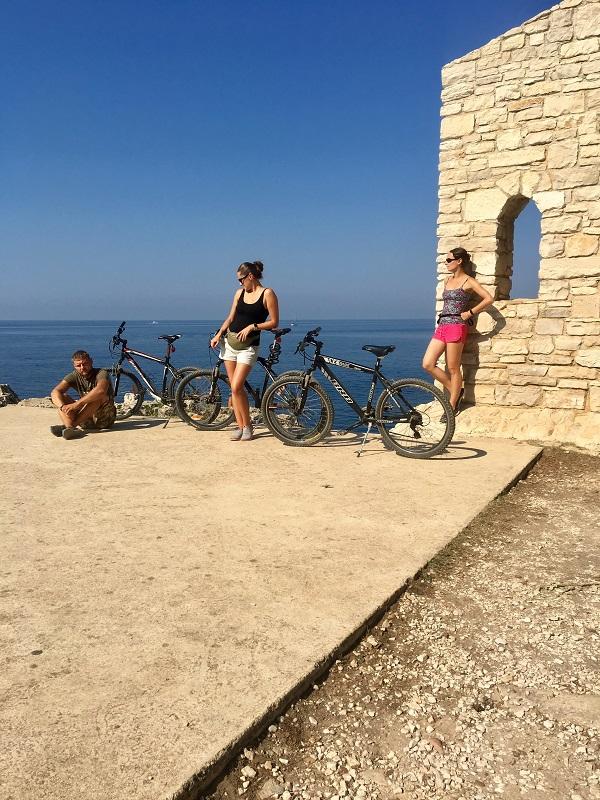 велосипеды в апартаментах в хорватии