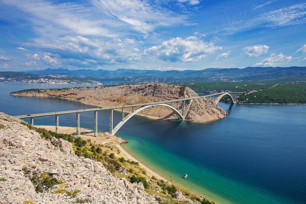 мост крк в хорватии стоимость проезда