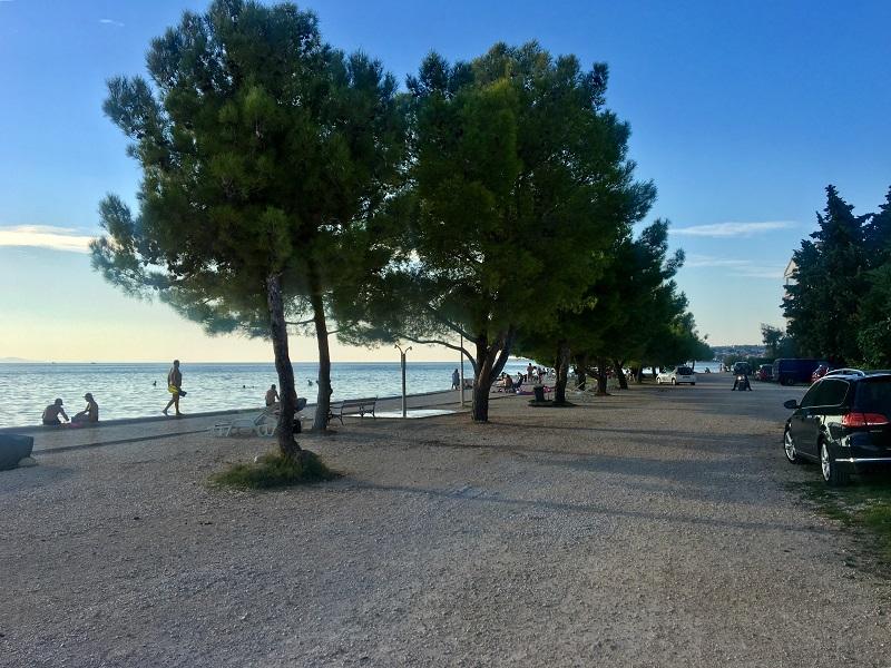 Пляжи задара в хорватии дикло