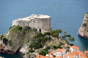 крепость форт ловриенац в дубровнике