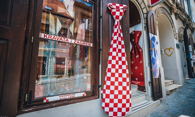 сувенир из хорватии галстук