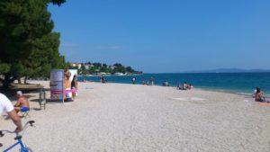 Пляж Коловаре в Задаре