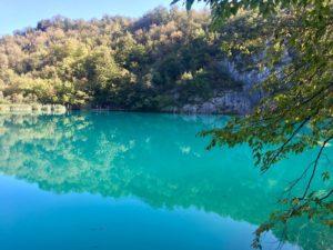 карстовые озера Хорватии