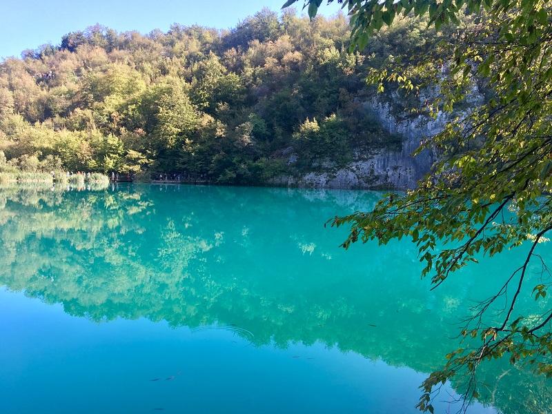 карстовые озера Хорватии плитвице