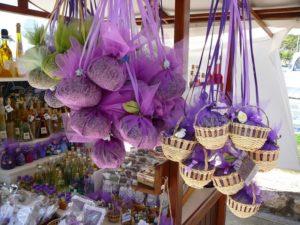 сувениры из лаванды в хорватии
