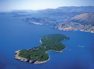 остров локрум на карте
