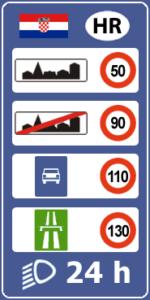 ПДД Хорватии платные дороги