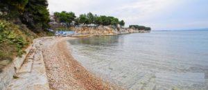 Пляж Подбриг в Задаре