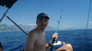 рыбалка на яхте в хорватии