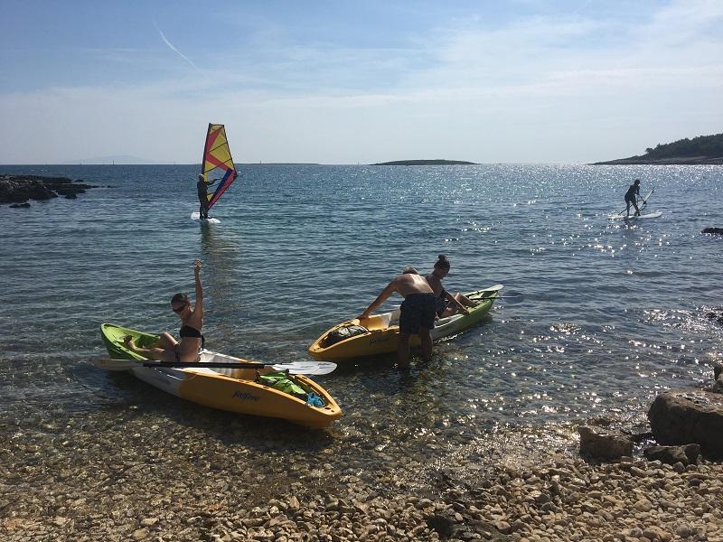 аренда каяков и сапсерфов в хорватии