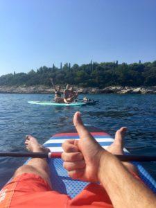 сапсерфинг в хорватии