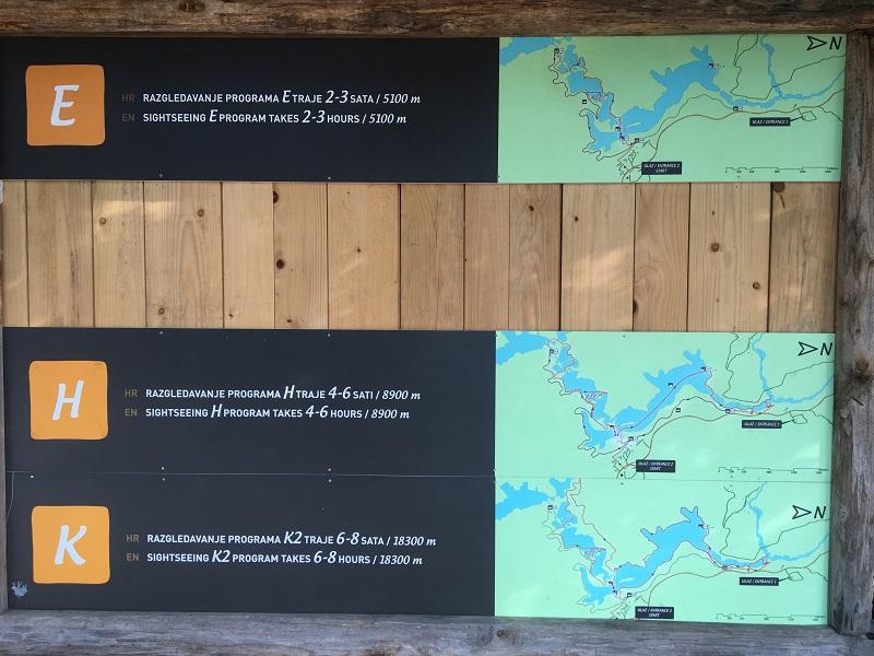 пешие маршруты на плитвицких озерах