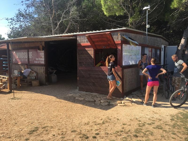 Виндсерфинг станция в хорватии
