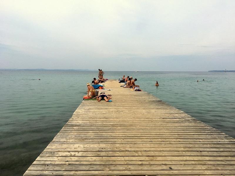 пляж Згон в Задаре