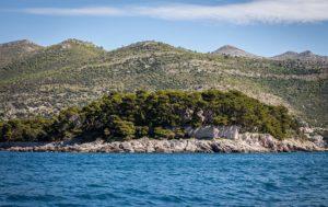 остров дакса и континентальная Хорватия