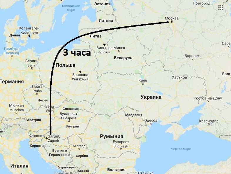 дешевые билеты в хорватию из москвы