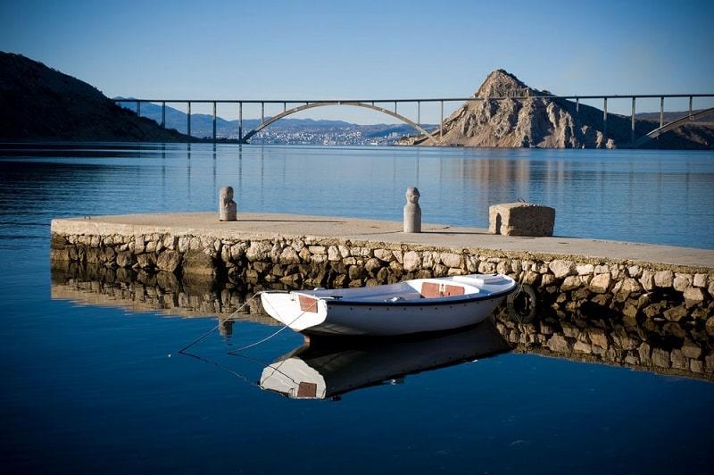 мост на крк в хорватии