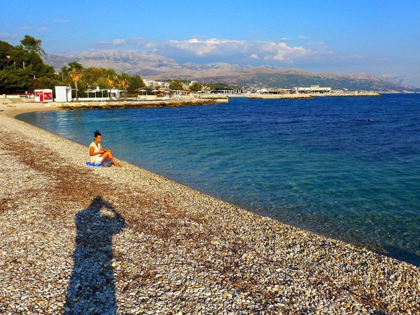 пляжи на море в хорватии