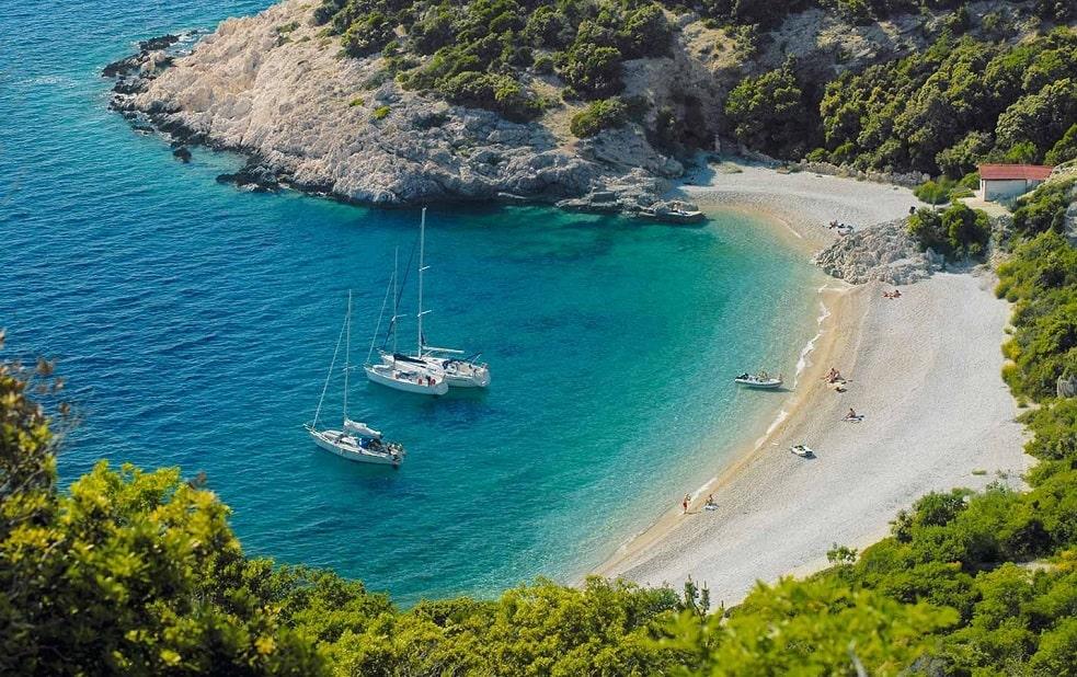 всец о хорватских пляжах