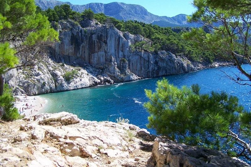 Нудистский пляж в Хорватии