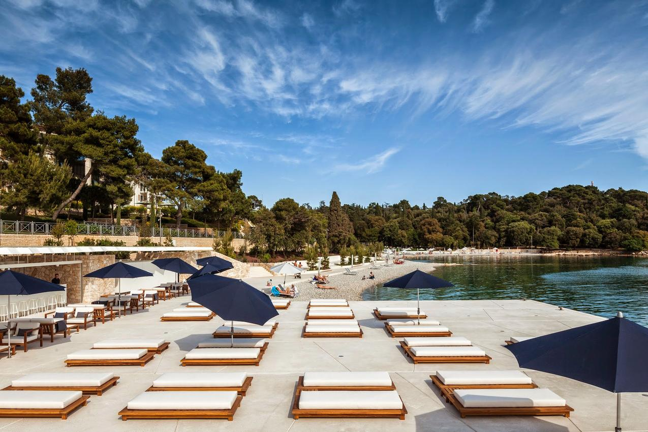 Пляжи Хорватии в Истрии