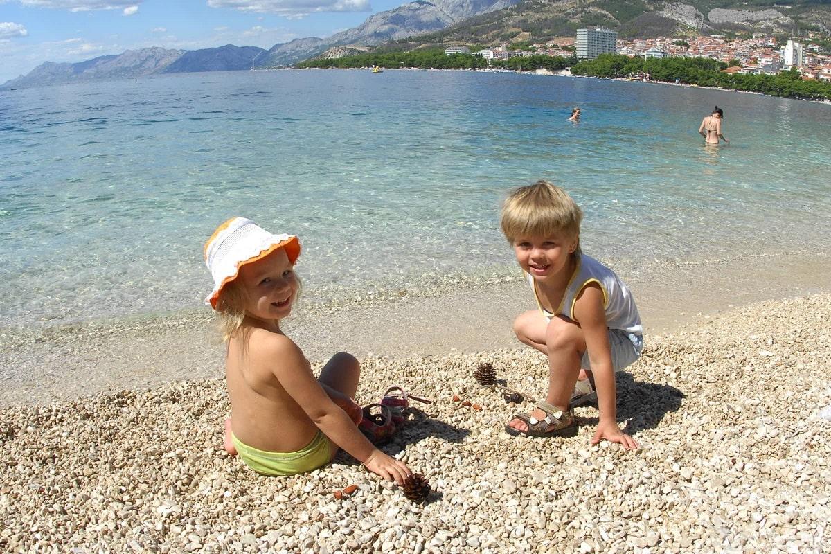 хорватия отдых на море с детьми